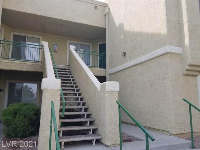 1509 Linnbaker Lane #203, Las Vegas, NV 89110 (MLS #2262373) :: Signature Real Estate Group