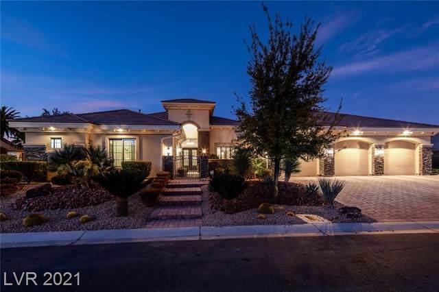 8630 Queens Brook Court, Las Vegas, NV 89129 (MLS #2262532) :: Signature Real Estate Group