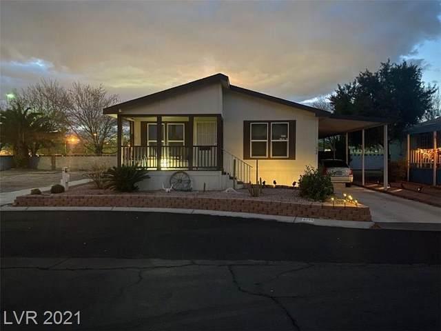 5300 E Desert Inn Road #266, Las Vegas, NV 89122 (MLS #2262645) :: The Shear Team