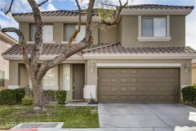 261 Lenape Heights Avenue, Las Vegas, NV 89148 (MLS #2262732) :: Vestuto Realty Group