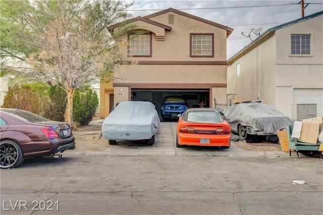 3863 Via Lucia Drive, Las Vegas, NV 89115 (MLS #2262735) :: Signature Real Estate Group