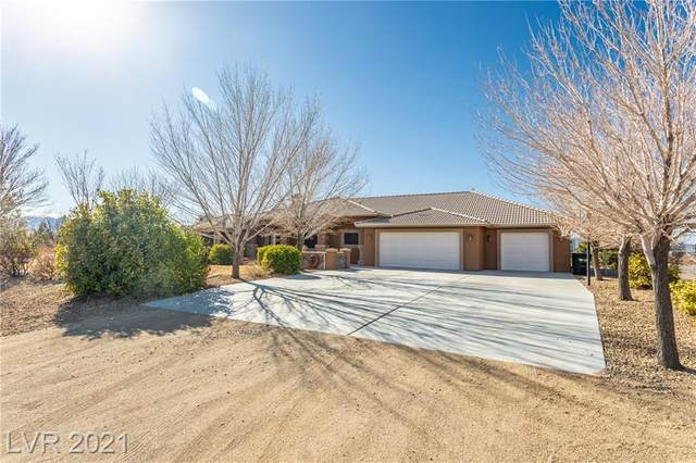 3650 Prairie Avenue, Pahrump, NV 89048 (MLS #2262929) :: Hebert Group | Realty One Group