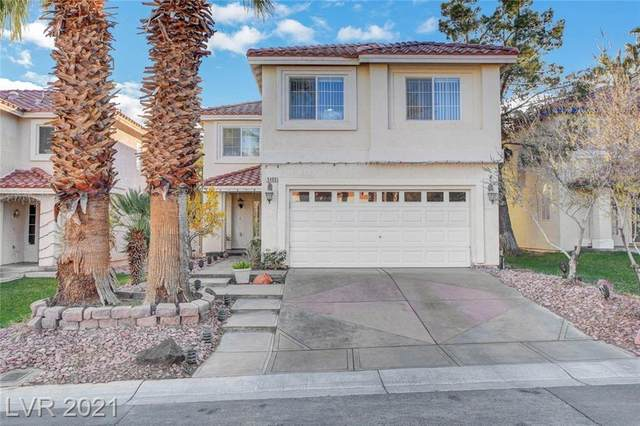9489 Lenox Crater Court, Las Vegas, NV 89148 (MLS #2262979) :: The Lindstrom Group