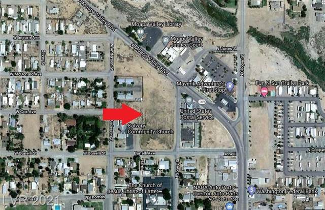 Moapa Valley & Jones, Overton, NV 89040 (MLS #2263025) :: Kypreos Team