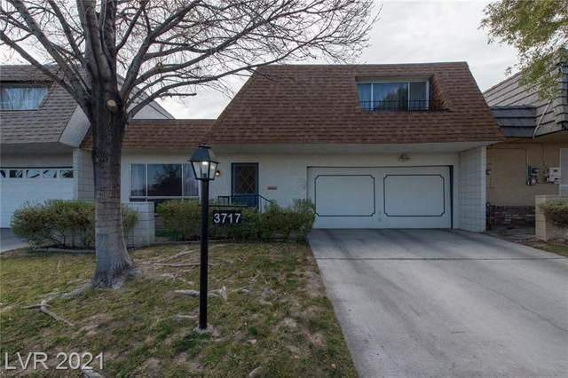 3717 Heritage Avenue, Las Vegas, NV 89121 (MLS #2263033) :: The Lindstrom Group
