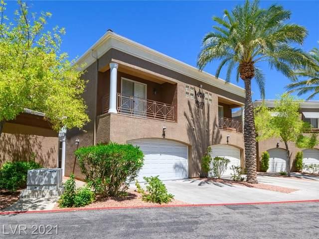 1405 San Juan Hills Drive #105, Las Vegas, NV 89134 (MLS #2263172) :: Team Michele Dugan