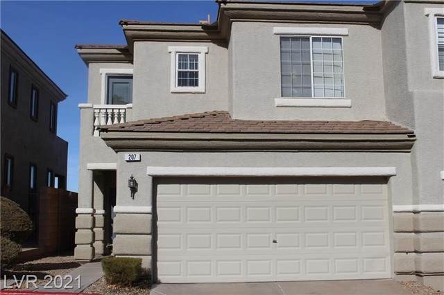 207 Priority Point Street, Henderson, NV 89012 (MLS #2263191) :: The Perna Group