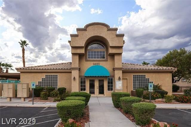 1401 Michael Way #103, Las Vegas, NV 89108 (MLS #2263247) :: Lindstrom Radcliffe Group