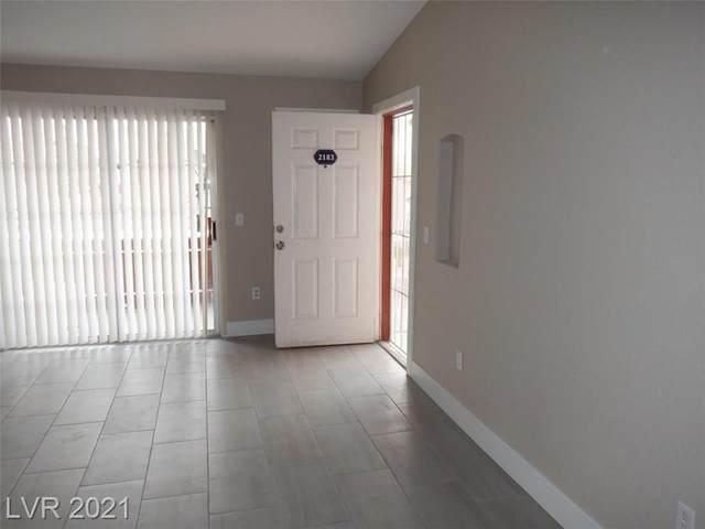 4730 Craig Road #2183, Las Vegas, NV 89115 (MLS #2263317) :: Team Michele Dugan