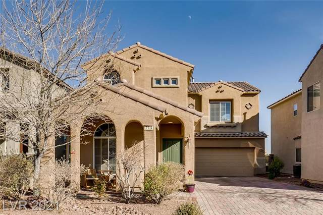 7114 Brighton Village Street, Las Vegas, NV 89166 (MLS #2263448) :: Billy OKeefe | Berkshire Hathaway HomeServices