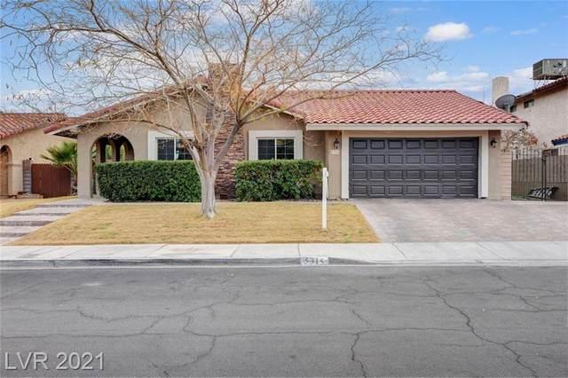 5315 Cartaro Drive, Las Vegas, NV 89103 (MLS #2263550) :: The Shear Team