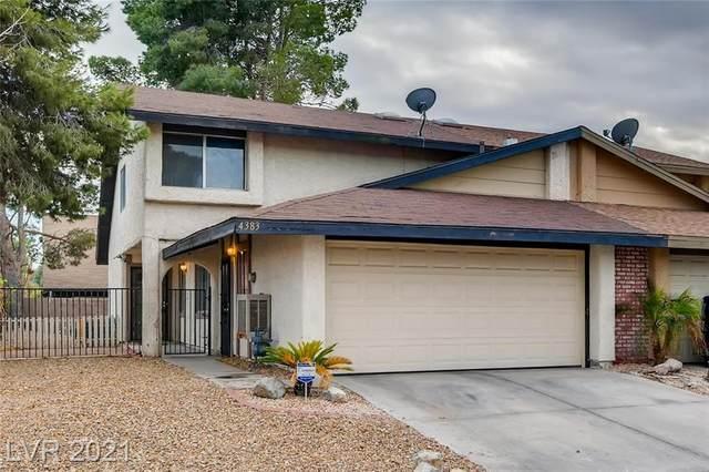 4383 Galore Avenue, Las Vegas, NV 89115 (MLS #2263596) :: Signature Real Estate Group