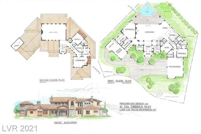 41 Via Tiberius Way, Henderson, NV 89011 (MLS #2263826) :: Signature Real Estate Group