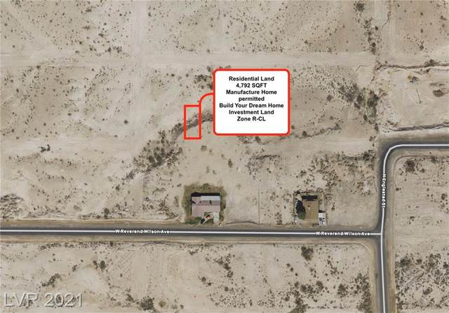 0 Mayflower Avenue, North Las Vegas, NV 89030 (MLS #2264506) :: Lindstrom Radcliffe Group