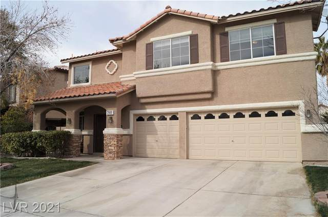 2568 Misty Olive Avenue, Henderson, NV 89052 (MLS #2265388) :: Jeffrey Sabel