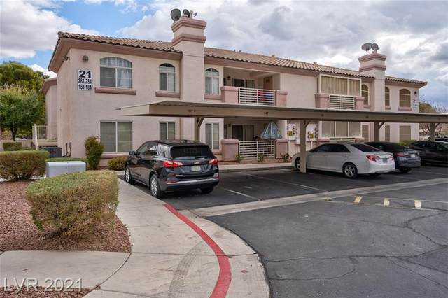 4555 Sahara Avenue #184, Las Vegas, NV 89104 (MLS #2266240) :: ERA Brokers Consolidated / Sherman Group