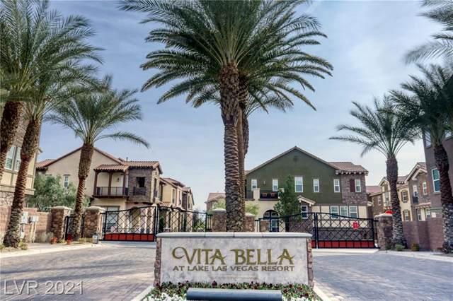 8 Via Vita Bella, Henderson, NV 89011 (MLS #2266321) :: Billy OKeefe | Berkshire Hathaway HomeServices