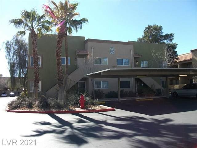 1812 Decatur Boulevard #201, Las Vegas, NV 89108 (MLS #2266490) :: Lindstrom Radcliffe Group