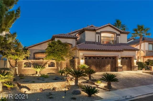 708 Eaglewood Drive, Las Vegas, NV 89144 (MLS #2267750) :: Jeffrey Sabel