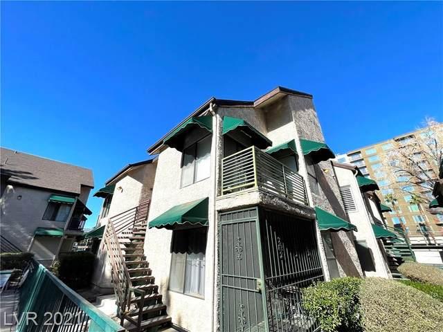 460 Elm Drive #204, Las Vegas, NV 89169 (MLS #2268336) :: ERA Brokers Consolidated / Sherman Group