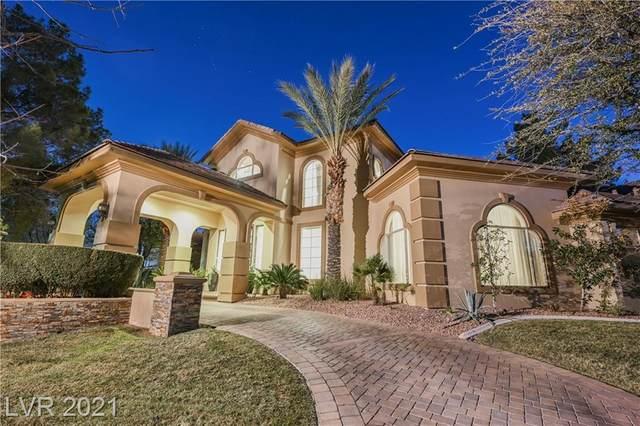 413 Canyon Greens Drive, Las Vegas, NV 89144 (MLS #2268505) :: The Perna Group
