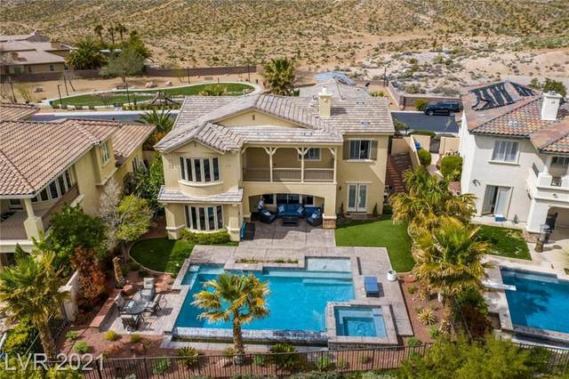 2190 Country Cove Court, Las Vegas, NV 89135 (MLS #2268798) :: Signature Real Estate Group