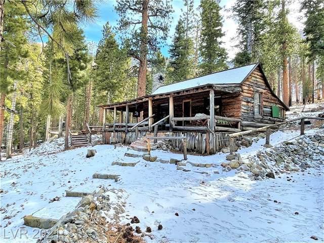 585 Snow Fall Trail, Mount Charleston, NV 89124 (MLS #2269313) :: Jeffrey Sabel