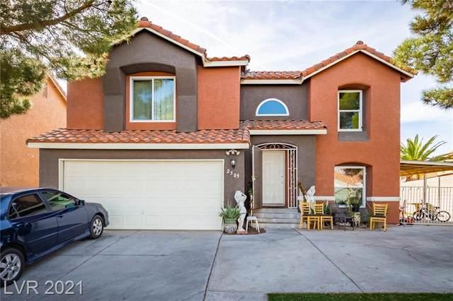 2509 W Ellingson Drive, Las Vegas, NV 89106 (MLS #2269341) :: Hebert Group | Realty One Group