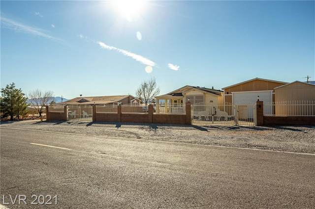 5560 Blackrock Avenue, Pahrump, NV 89060 (MLS #2269916) :: Jeffrey Sabel