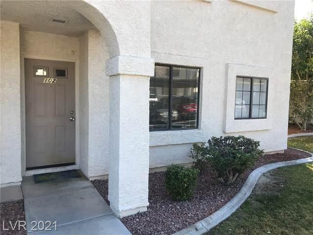 4805 Nara Vista Way #102, Las Vegas, NV 89103 (MLS #2269936) :: ERA Brokers Consolidated / Sherman Group