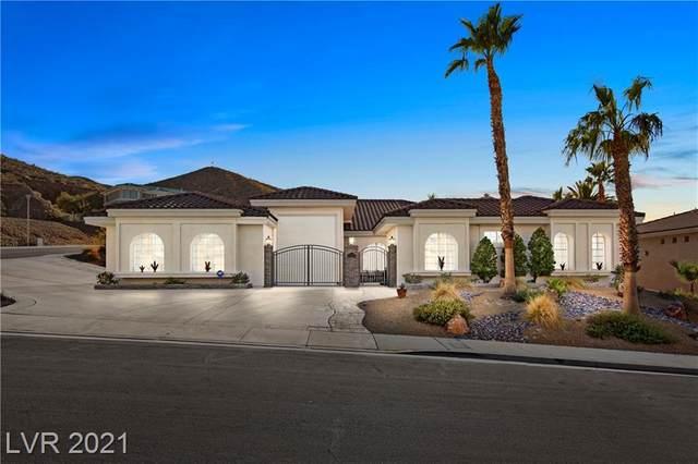 215 Red Rock Road, Boulder City, NV 89005 (MLS #2270309) :: Custom Fit Real Estate Group
