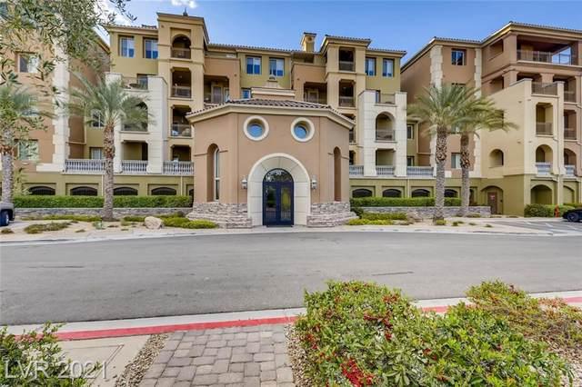 30 Via Mantova #307, Henderson, NV 89011 (MLS #2270389) :: Signature Real Estate Group