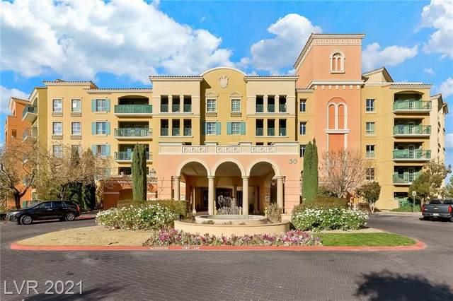 30 Strada Di Villaggio #338, Henderson, NV 89011 (MLS #2270534) :: Signature Real Estate Group