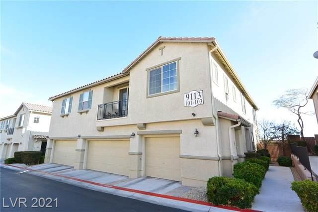 9113 Ripple Ridge Avenue #101, Las Vegas, NV 89149 (MLS #2271092) :: Custom Fit Real Estate Group