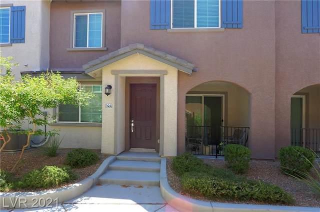 8454 Classique Avenue #104, Las Vegas, NV 89178 (MLS #2271592) :: Billy OKeefe | Berkshire Hathaway HomeServices