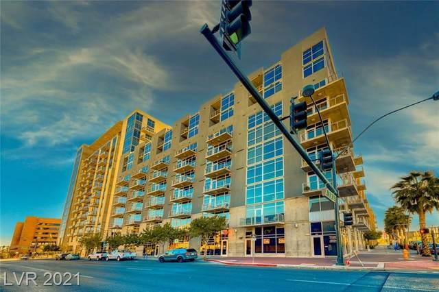 353 Bonneville Avenue #910, Las Vegas, NV 89101 (MLS #2271595) :: Signature Real Estate Group
