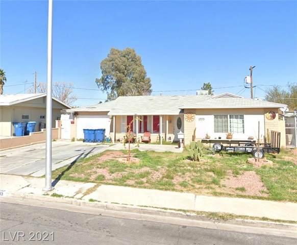 1733 Bonita Avenue, Las Vegas, NV 89104 (MLS #2271634) :: Jeffrey Sabel
