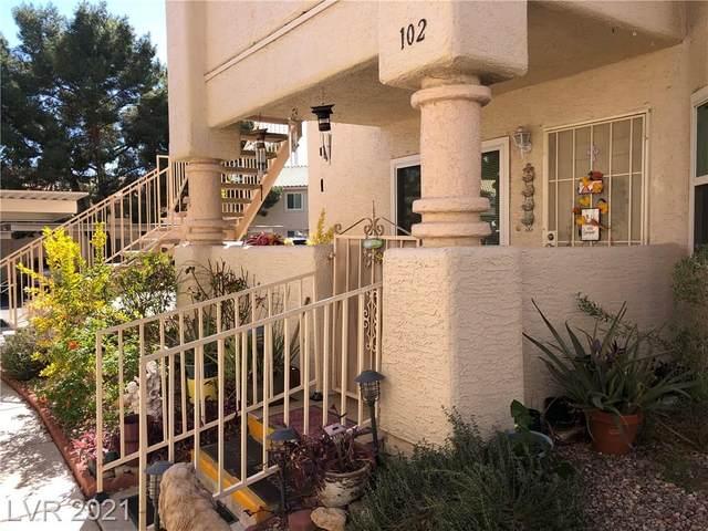 913 Rockview Drive #102, Las Vegas, NV 89128 (MLS #2272104) :: Lindstrom Radcliffe Group