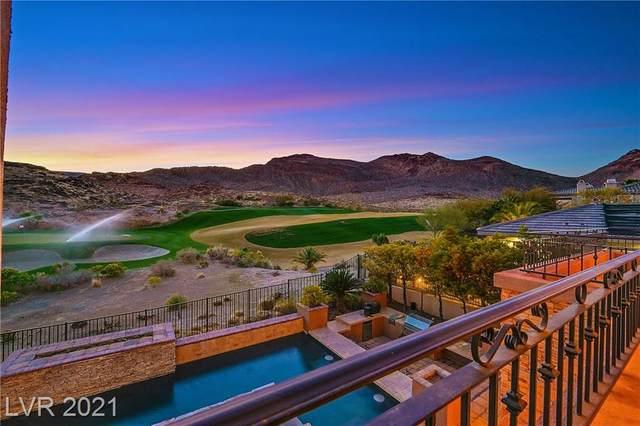 11705 Glowing Sunset Lane, Las Vegas, NV 89135 (MLS #2273065) :: Jeffrey Sabel