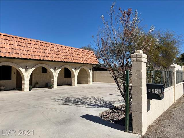 4350 Mountain View Boulevard, Las Vegas, NV 89102 (MLS #2273212) :: Jeffrey Sabel