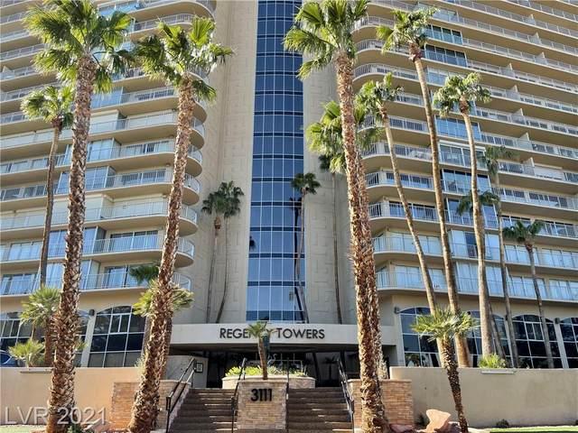 3111 Bel Air Drive 11B, Las Vegas, NV 89109 (MLS #2273392) :: Signature Real Estate Group