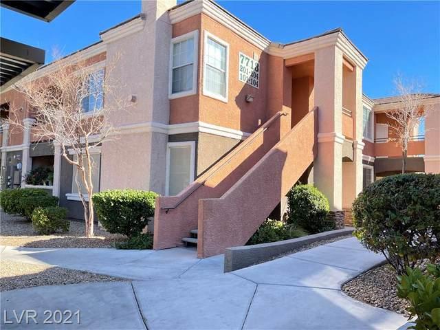 7713 Himalayas Avenue #203, Las Vegas, NV 89128 (MLS #2273412) :: Jeffrey Sabel