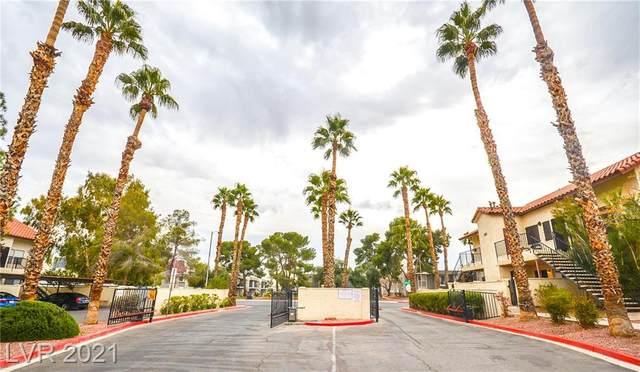 3606 Di Salvo Drive #134, Las Vegas, NV 89103 (MLS #2273419) :: Signature Real Estate Group
