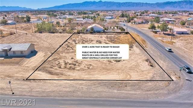 2061 E Dandelion Street, Pahrump, NV 89048 (MLS #2273435) :: Signature Real Estate Group