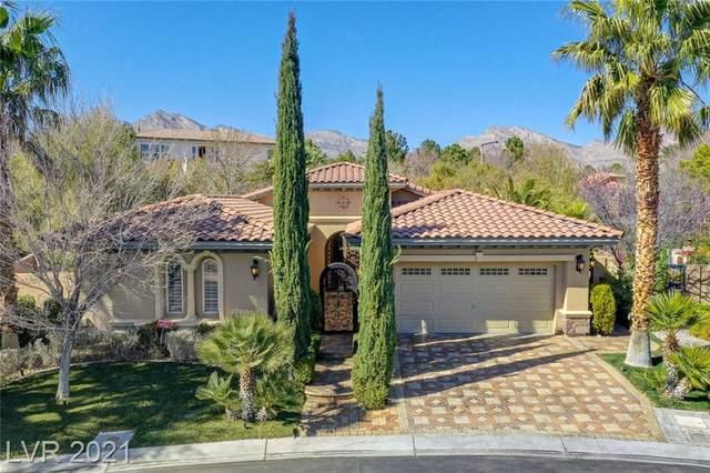 197 Popolo Drive, Las Vegas, NV 89138 (MLS #2273558) :: Hebert Group | Realty One Group