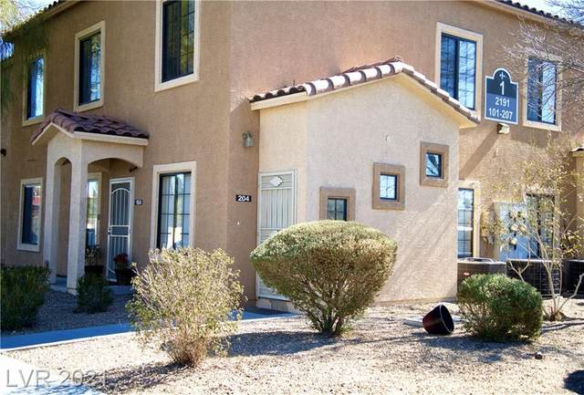 2191 Hussium Hills Street #204, Las Vegas, NV 89108 (MLS #2273910) :: Signature Real Estate Group