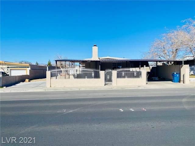 6062 E Carey Avenue, Las Vegas, NV 89156 (MLS #2274310) :: Jeffrey Sabel