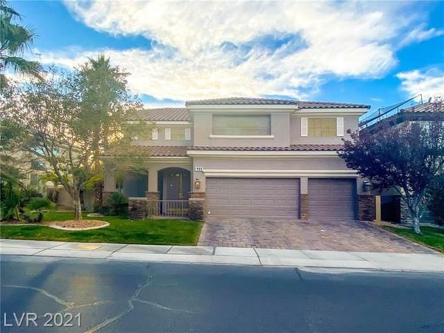 111 Rancho Maria Street, Las Vegas, NV 89148 (MLS #2274326) :: Jeffrey Sabel