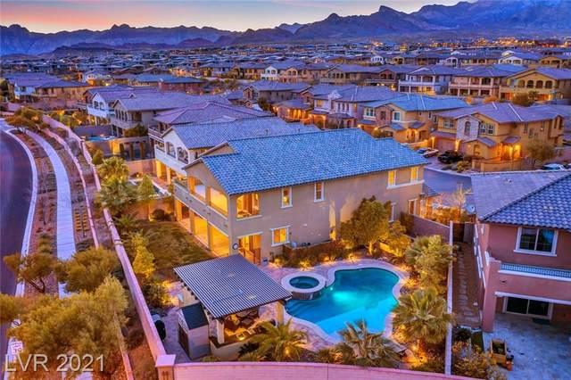 12213 Lost Treasure Avenue, Las Vegas, NV 89138 (MLS #2274509) :: Jeffrey Sabel