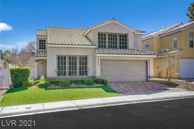 7705 Sea Wind Drive, Las Vegas, NV 89128 (MLS #2274668) :: Signature Real Estate Group